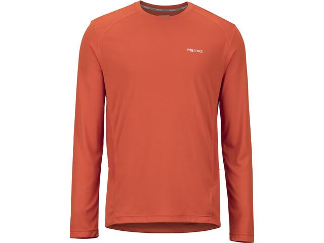 Marmot Windridge Pitkähihainen Paita Miehet, orange haze